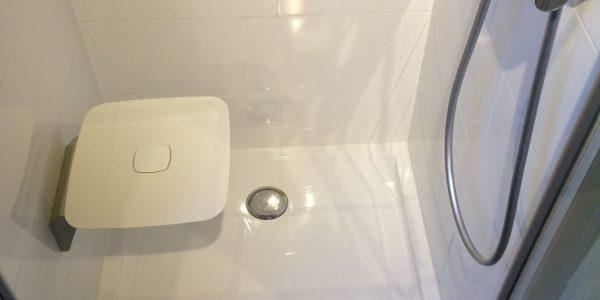 Tub de douche siège ouvert